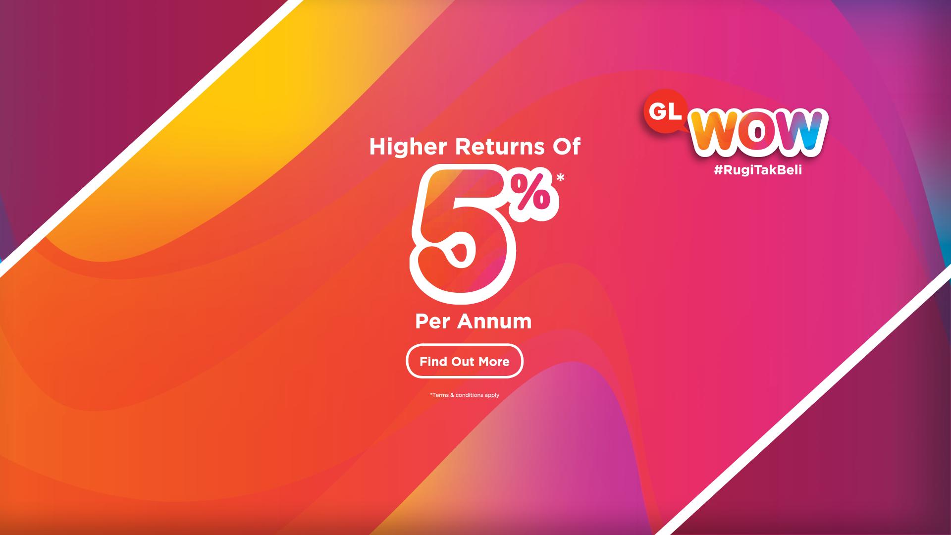 GL Wow 5% Banner