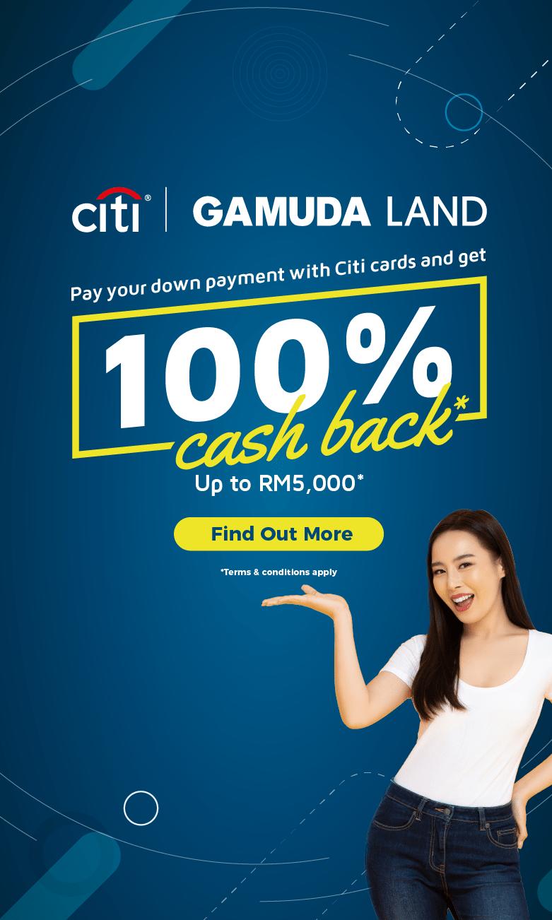 CitiBank X Gamuda Land